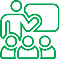 Back office support icon