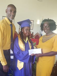 P(Gain) Beneficiary & VOJN Graduate Sasha Browne